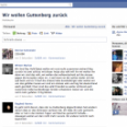 Wir wollen Guttenberg zurück Facebook Gruppe knackt 250.000